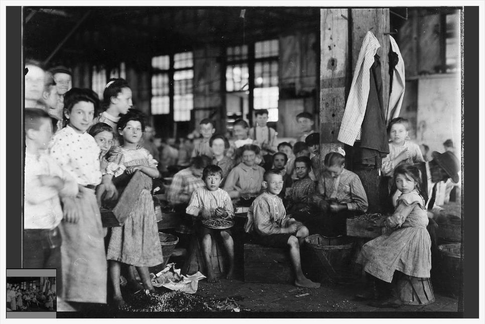 Analyzing a Child Labor Photograph activity