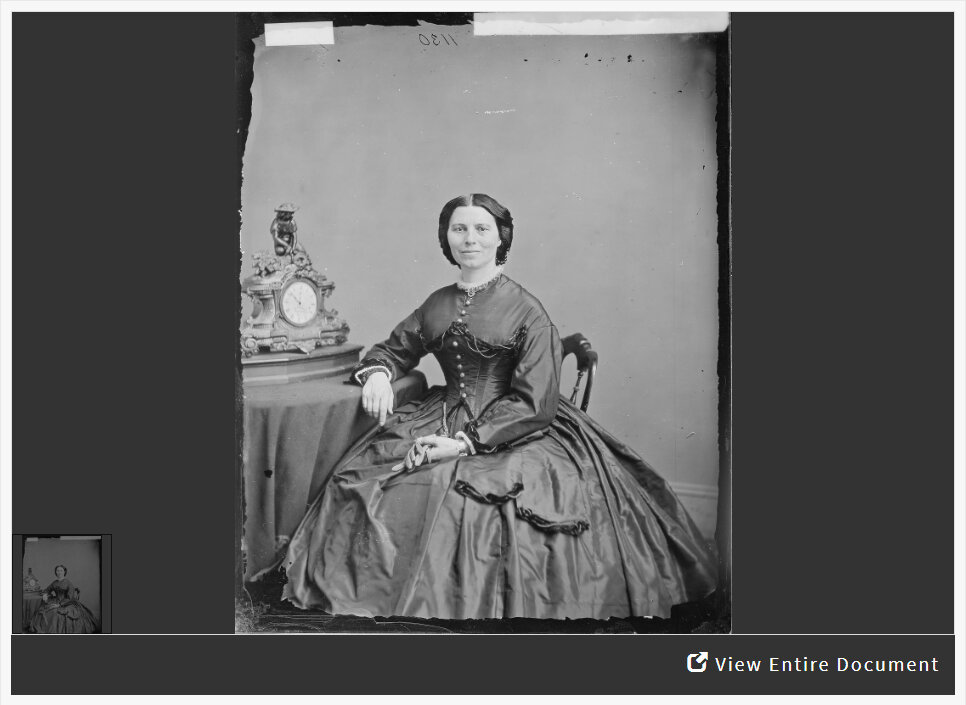 Analyzing a Photograph of Clara Barton