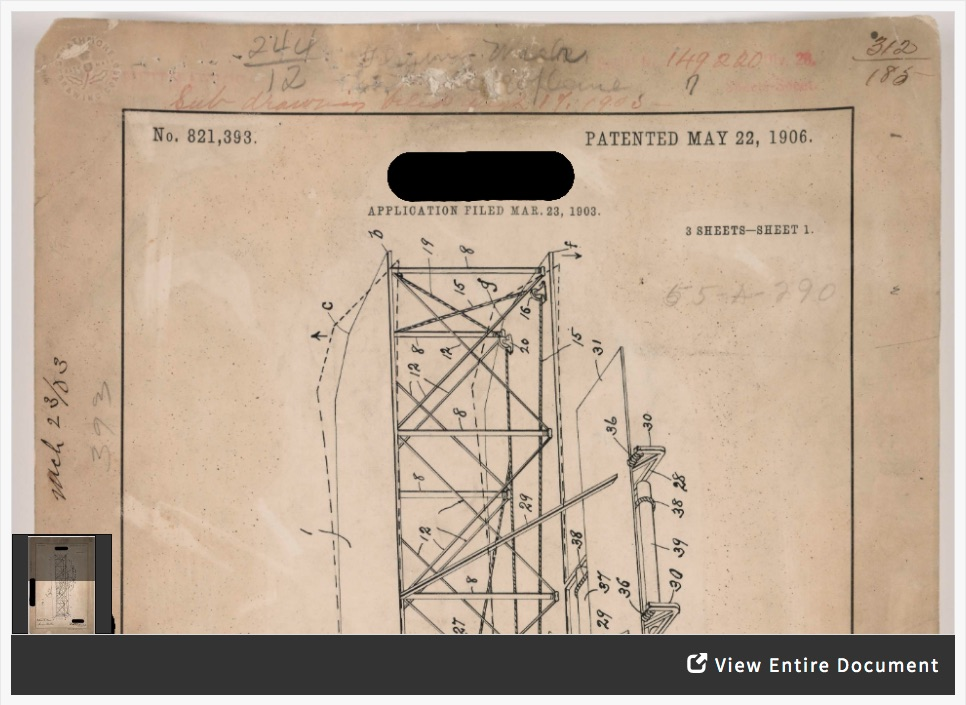 Patent Analysis: Wright Brothers