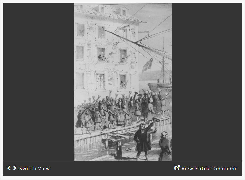 Boston Tea Party Image Analysis