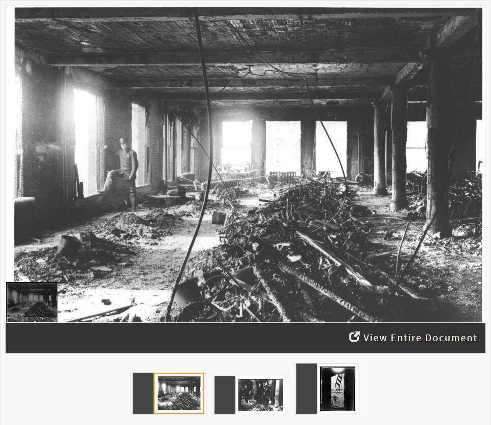 Analyzing Photographs of the Triangle Shirtwaist Factory Fire