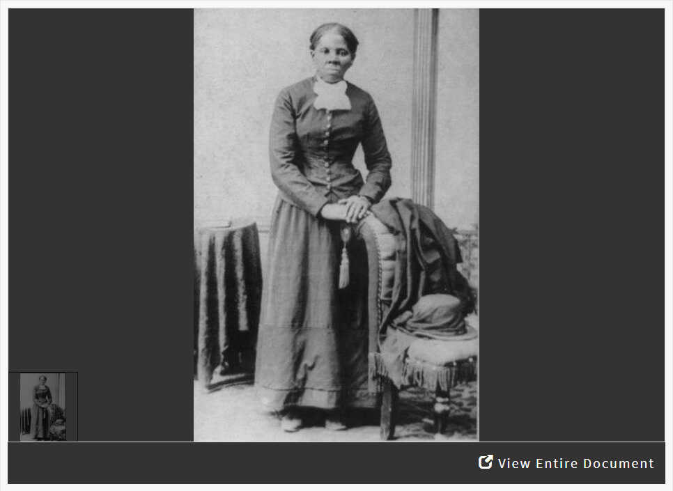 Analyzing a Photograph of Harriet Tubman