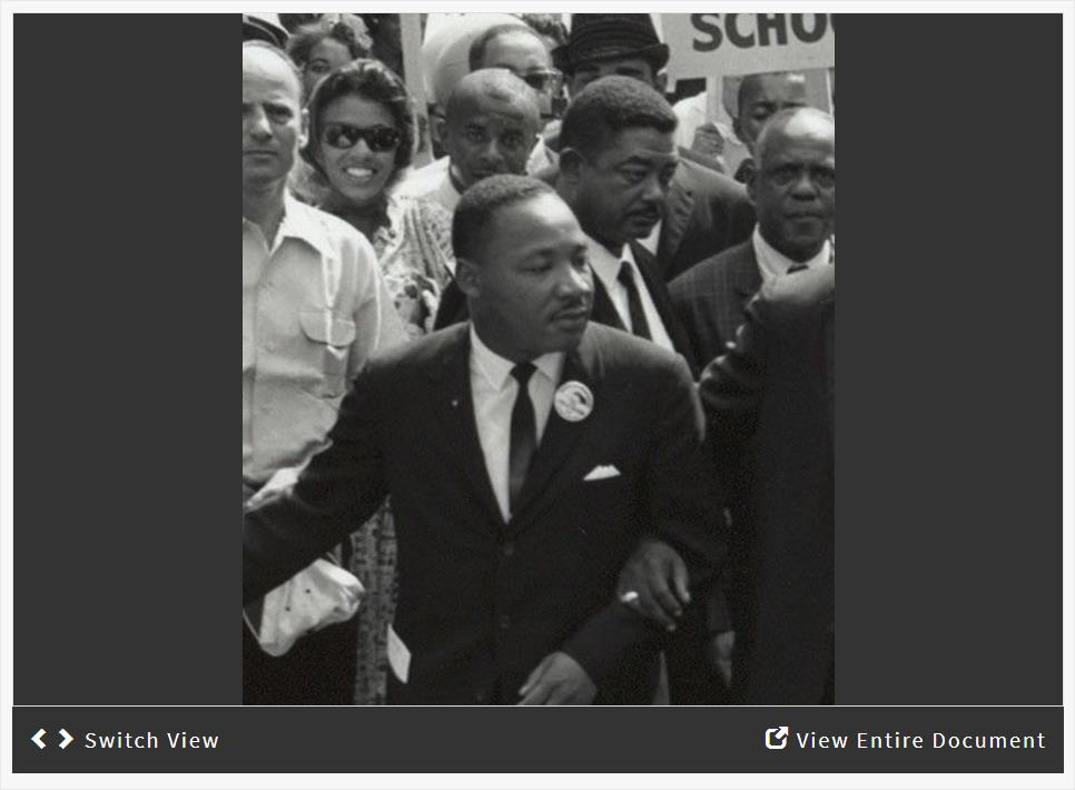 Martin Luther King, Jr. and the Fight for Civil Rights