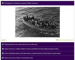 The Titanic Disaster: Measuring Loss of Life, Property and Injuries activity
