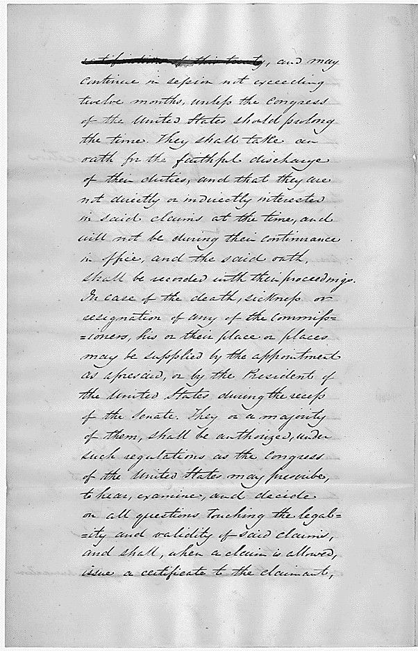 Joint Resolution for annexing Texas to the United States
