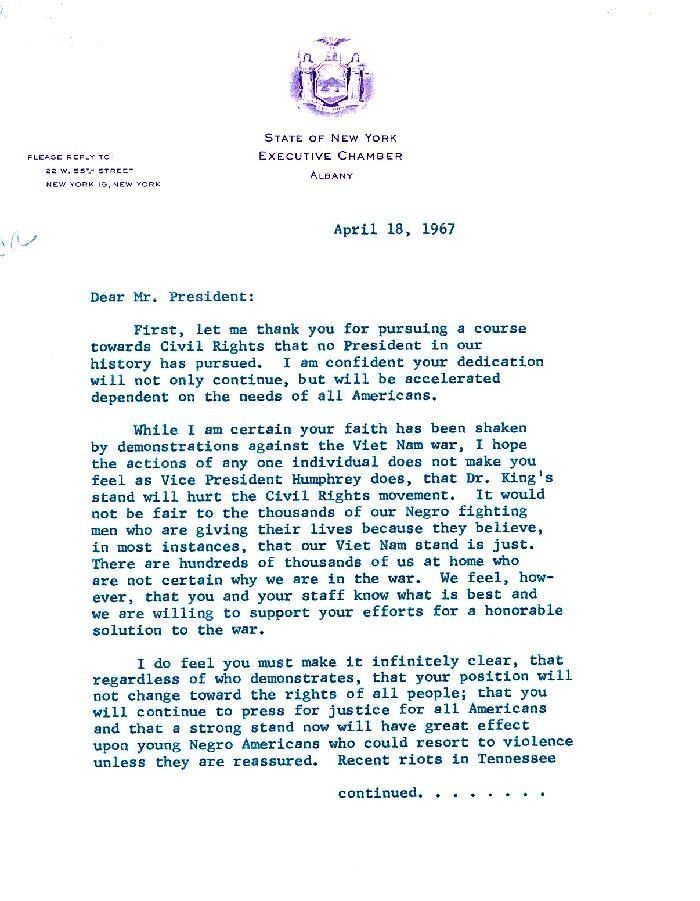 Letter to president lyndon b johnson from jackie robinson docsteach thecheapjerseys Choice Image
