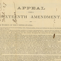 Appeal for a Sixteenth Amendment
