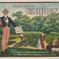 Uncle Sam Gardening Poster