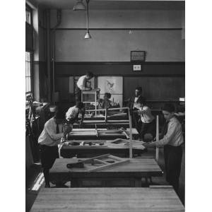 Typical Carpenter Class of an East Side, New York School