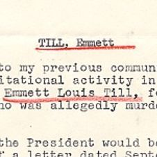 Letter, J. Edgar Hoover to Dillon Anderson