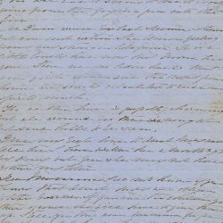 Letter from Florence Moore to Her Mother Rose Greenhow Concerning a Potential Attack on Washington