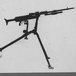 German machine gun