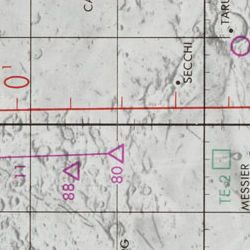 Apollo 11 Target of Opportunity Flight Chart