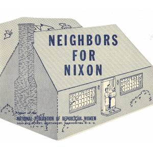 Neighbors for Nixon Recipe Pamphlet