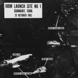 Aerial Photograph of Intercontinental Range Ballistic Missile Launch Site Number One at Guanajay, Cuba