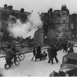 WWII; London; England