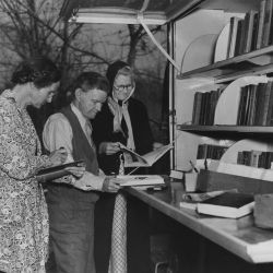 WPA [Works Progress Administration] Library bookmobile