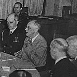 Franklin D. Roosevelt, Stalin, Churchill, and others at Livadia Palace in Yalta, USSR