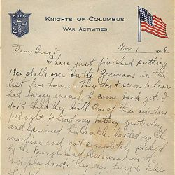Letter from Harry S. Truman to Bess Wallace