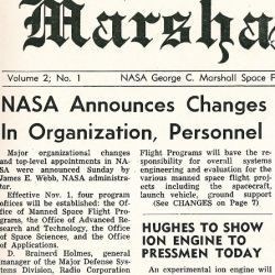 """NASA Announces Changes in Organization, Personnel"""