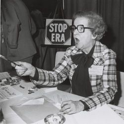 STOP ERA Booth at the First National Women