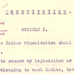 Constitution of the Mission Indian Federation