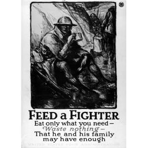 Feed a Fighter/Eat only what you need