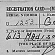 World War II Selective Service System Registration Card for George Clyde Abbey