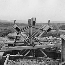 """Water wheel on Flathead Irrigation Project."""