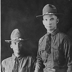 Unidentified soldiers from Wind River