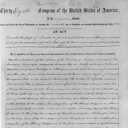 Act of March 21, 1864, Public Law 38-30, 13 STAT 30, which admitted Nevada as a state in the Union and enabled its people to form a constitution and state government