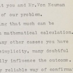 Letter of Albert Einstein to the Lieutenant Stephen Brunauer, U.S. Navy Bureau of Ordnance