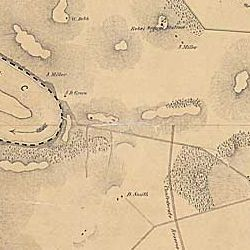 Map Of The Battle Of The Antietam Fought On The 16th And 17th September 1862 Between