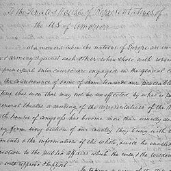 Fifth annual message of President Thomas Jefferson