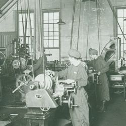Training School for Women Workers at the Watertown Arsenal
