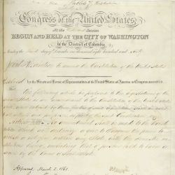 Proposed Thirteenth Amendment Regarding the Abolition of Slavery