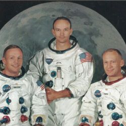 Photograph of the Apollo 11 Crew