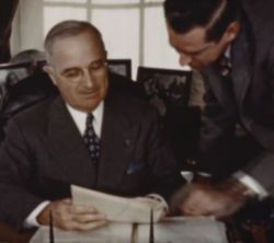 Harry Truman, President of the United States