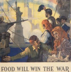 Food Will Win the War, in English