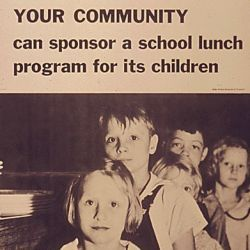 """Your Community Can Sponsor a School Lunch Program for its Children"""