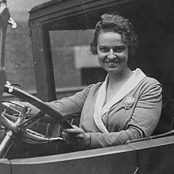 Woman member of the Secret Service, Olive H. Doyle