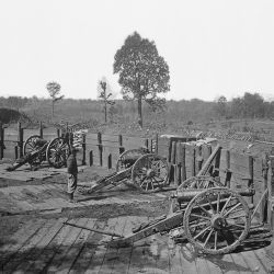 Fortifications in front of Atlanta, Ga.
