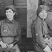 Women Electric Welders at Hog Island Shipyard