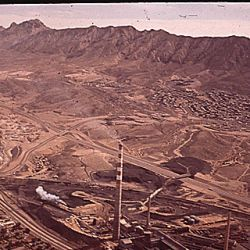 Asarco Smelter Works, Near the U.S.-Mexican Border