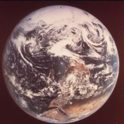 Earth, as Seen by Astronauts Eugen Cernan, Ronald Evans and Harrison Schmidt from Apollo 17