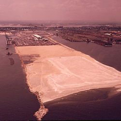 Example of Landfill at Bayonne, New Jersey