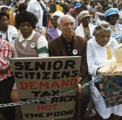 Senior Citizens March
