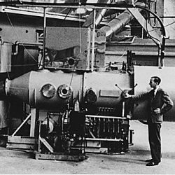 60-inch cyclotron at the University of California Lawrence Radiation Laboratory, Berkeley