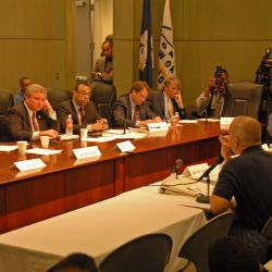 [Hurricane Katrina] New Orleans, LA, 1-13-06 -- Federal Coordinating Officer for Louisiana Mr. Wells testifies before a House Financial Committee and Housing Sub Committee on Housing for Disaster Vict