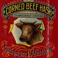 Corned Beef Hash Label